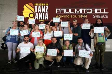 paul mitchell values trip to tanzania